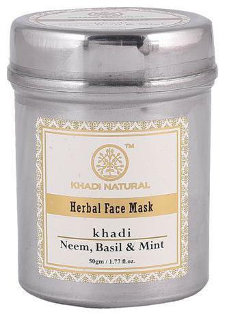 Khadi Natural Herbal Neem Basil & Mint Face Mask 50gm