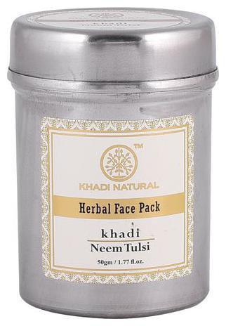 Khadi Natural Herbal Neem Tulsi Face Pack 50 gm