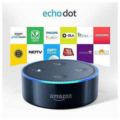 Amazon Bluetooth Smart Speaker ( Black )