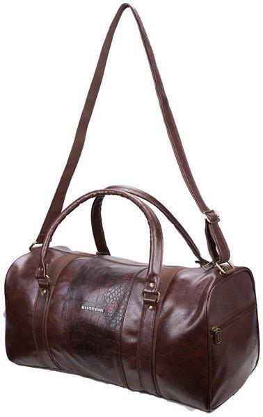 Cabin size Duffle bag - Killer Jamaica PU 30 Litre Stylish Brown duffle bag