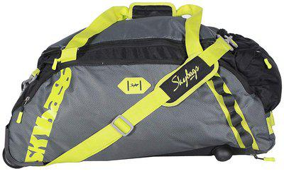 Skybags Unisex Cabin Soft Luggage Duffel Bag-DFXENH45BLK (Black, 45 cm)