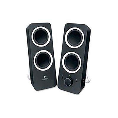 Logitech Wired 2.0 Speaker ( Black )