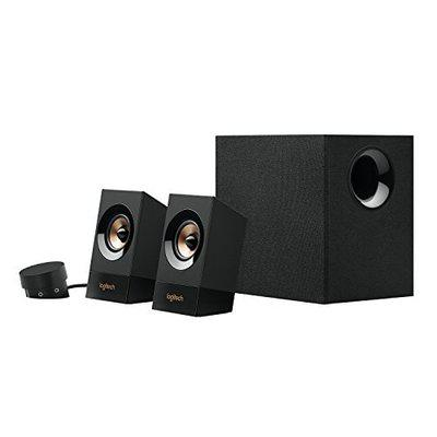 Logitech Wired 2.1 Speaker ( Black )