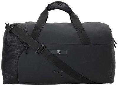 Puma Unisex Polyester Duffles & Gym Bag Black