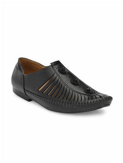 Guava Men's Black Loafers-6 Uk/india (40 Eu) (gv15ja498-6)