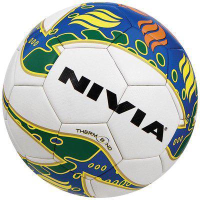 Nivia 238 Thermobond Football-Multicolor