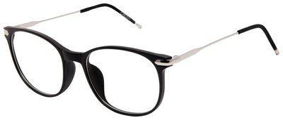Cardon Black Round Full Rim Eyeglasses for Men - Pack of 1