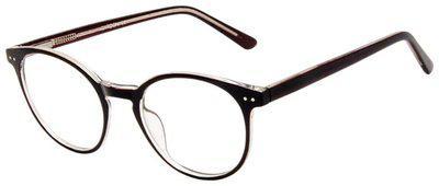Cardon Brown Round Full Rim Eyeglasses for Men - Pack of 1