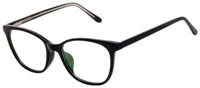 Cardon Black Oval Full Rim Eyeglasses for Men - Pack of 1
