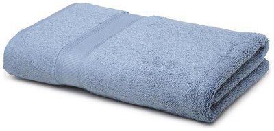 CORE Designed by Spaces 450 gsm GSM Cotton Bath towel ( 1 piece , Blue )