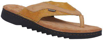 Woodland Men's Myellow Leather Sandals/India (40 EU) (OGP 2697117)