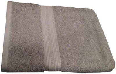 Welhouse India 500 GSM Cotton Bath towel ( 2 pieces , Grey )