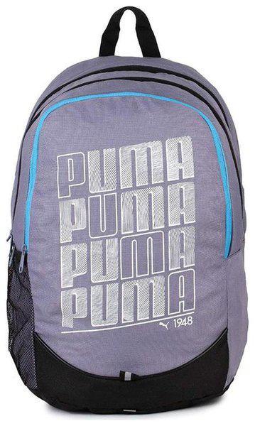 Puma Pioneer IND 23 L Laptop Backpack(Purple, Grey)