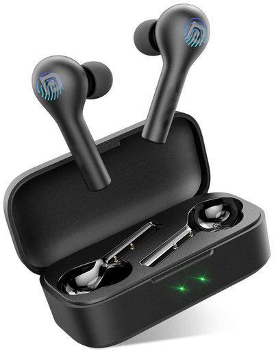 Portronics Harmonics Twins II POR 1050 In-Ear Bluetooth Headset ( Black )