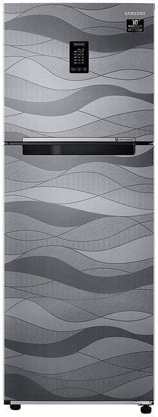Samsung 314 L 2 star Frost free Refrigerator - RT34T4632NV/HL , Wave steel