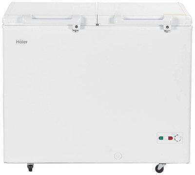 Haier Direct Cool 319 Chest Freezers Cooler (HCC-345HCDD , White)