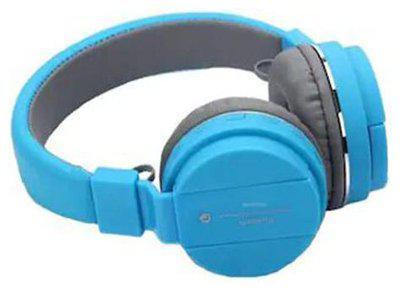 RAKRISH SHKTSBLU Over-Ear Bluetooth Headset ( Blue )