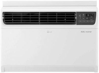 LG 1.5 Ton 3 star bee rating Inverter Window ac , JW-Q18WUXA1 , White )