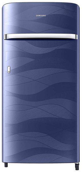 Samsung 198 L 4 star Direct cool Refrigerator - RR21T2G2XUV/HL , Blue wave