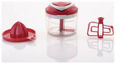 Bluewhale New Easy Pull 3 In 1 Vegetable and Fruit chopper Chopper (1 PC 3IN1 EASY PULL CHOPPER)