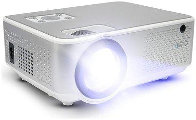 XElectron C9 Real HD 720p (1080p Support)   3800 Lumen (380 ANSI) with 180 inch (4.6 m) Large Display LED Projector   VGA , AV, HDMI , SD Card , USB, Audio Out Connectivity   2021 Release (M2 Series)