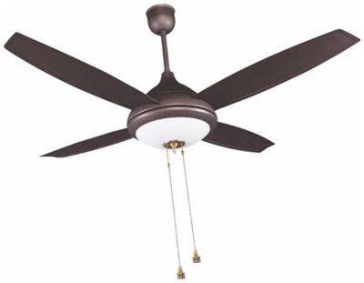 Crompton LUSTER EROS 1300 mm Ceiling Fan - Roast Brown