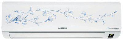 Samsung 1 Ton 3 star Inverter Split ac , AR12JV5HATQNNA , White )