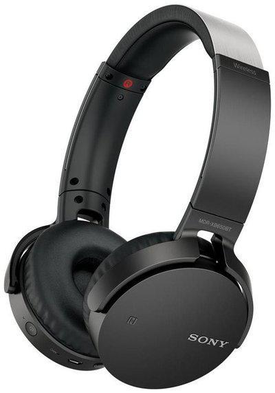 Sony MDR-XB650BT On-ear Bluetooth Headsets ( Black )