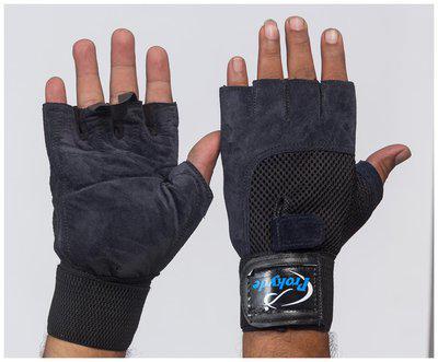 Prokyde Slam Gym Gloves-Navy Blue (Size-M)