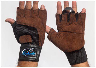 Prokyde Slam Gym Gloves-Brown (Size-L)