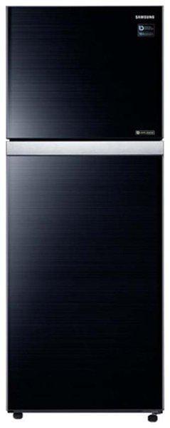 Samsung 415 ltr 3 star Twin cooling Refrigerator - RT42K5068GL , Black glass
