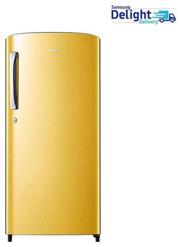 Samsung 192 L 4 star Frost free Refrigerator - RR19H1784YT , Sapphire yellow