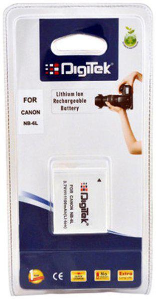 Digitek Canon NB-6L Rechargeable Lithium-ion Battery