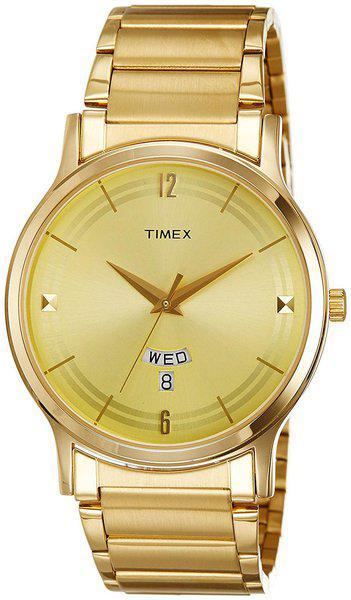 Timex Men Gold Analog Watches-TI000R421-TI000R421