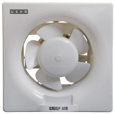 Usha Crisp Air 150 mm Economy Exhaust Fan ( White , Pack of 1 )
