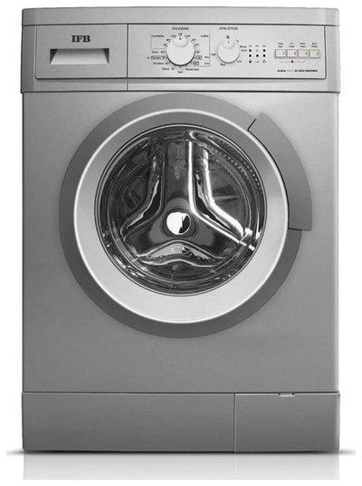 IFB 6 Kg Fully automatic front load Washing machine - SERENA AQUA SX LDT , Silver