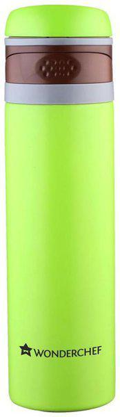 Wonderchef 500 ml Stainless Steel Green Water Bottles - Set of 1
