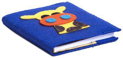 Blue Giraffe Small Diary