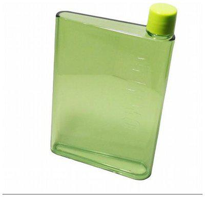 i-gadgets 420 ml Plastic Green Water Bottles - Set of 1