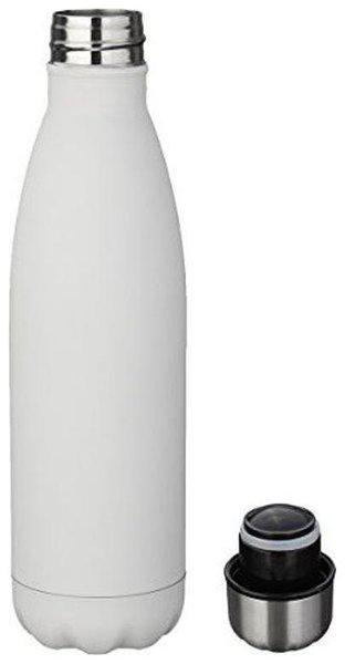 Dynore 500 ml Stainless Steel White Water Bottles - Set of 1
