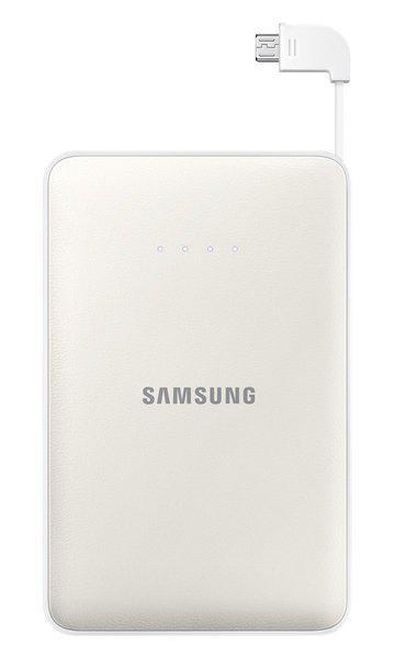 Samsung 11300mAh Power Bank White, Provides Fast charging|Dual charging ports