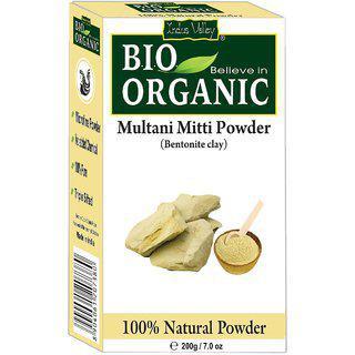 Indus Valley Bio Believe-in-organic Multani Mitti Powder (fine Powder For Ubtan)