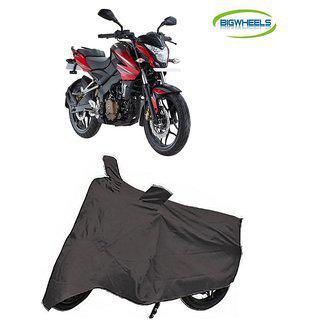Bigwheels Premium Quality Grey Matty Bike Body Cover For Bajaj Pulsar Ns 200