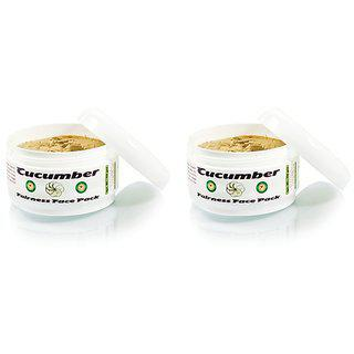 Adidev Herbals Cucumber Tan Removing Face Pack (pack Of 2)