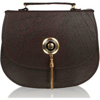 Clementine Women Brown Sling Bag
