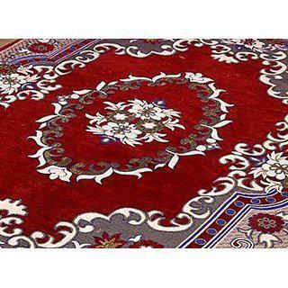 Peponi Bring Home Premium Living Room Valvet Touch Carpet Rug -(7 X 5 Multicolor)