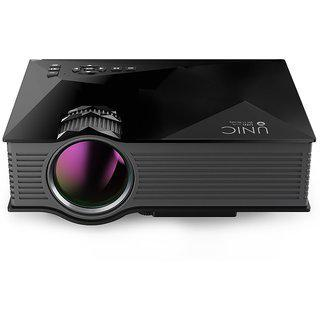Ibs Uc 46 Wifi 1200 Lm Led Corded Portablee Projector (black)