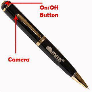 M Mhb Best Quality Spy Pen Camera Video/ Audio Hidden Recording Hd Sound Clearity Pen Camera With Inbuild 16gb Memory.
