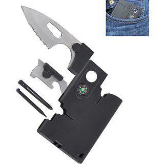 Futaba Camping Knife Survival Card Multifunction Tool