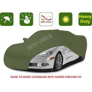 Add Vibes High Performance Nylon Car Body Cover For Audi A8 Green